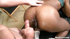 interracial sexual intercourse between two guys