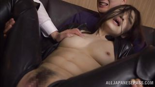 latex clad slut takes multiple cocks