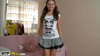 cute girl is an undercover whore