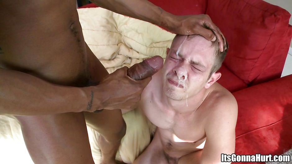 Huge gay hairy penis justin gets on all