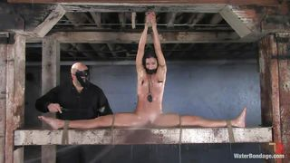 wet and sexy brunette milf punished and dominated