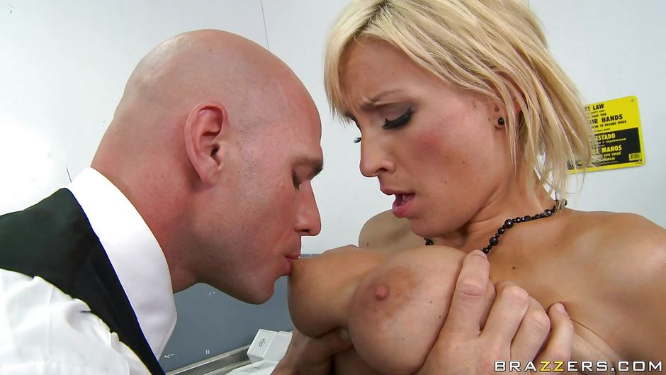 Hot milf boss gets titty fucked and fisted 10
