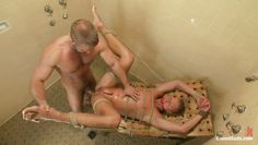 tied gay getting fingered and fucked in the ass