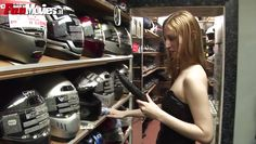 motorcycle shop employee finds dildo