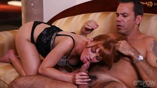 attractive redhead craves for dick