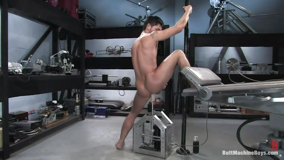 Shaking, Male fucking butt machines were not