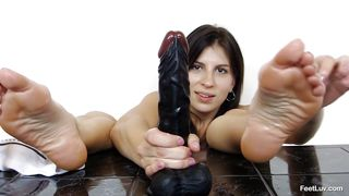 feet job practicing