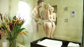 threesome in the shower