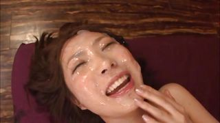 would you like cum on her asian face?