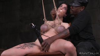 bondage slave tortured and punished by jack hammerx
