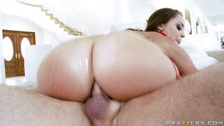 sexy booty babe takes it anal