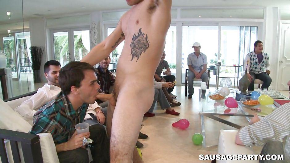 Blowjob party gay