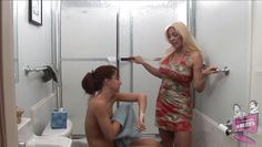 teen gets seduced by a mature blonde lesbian @ lesbian seductions #22