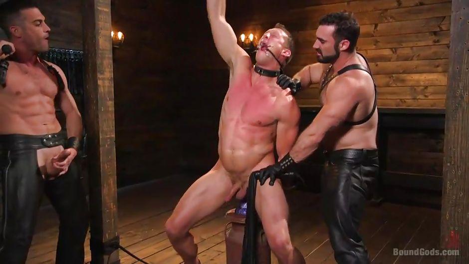 Master gay flogged
