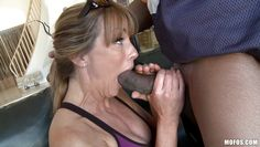 horny milf gets a big black cock