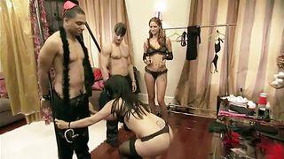 playmates having fun in an orgy @ season 4, ep. 12