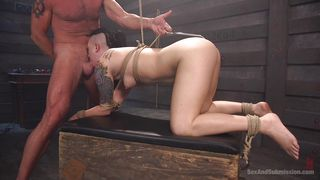 i am stimulating her sucking power with anal hook