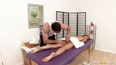presley hard getting a massage