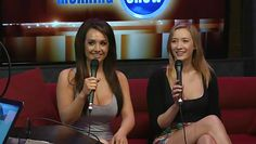 two chicks came to the morning show