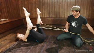 kink university shows proper bondage techniques