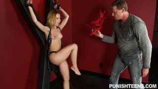 alina west was tied up and punished