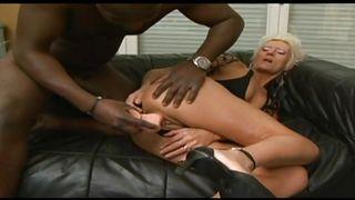 hot gilf masturbating then gives head