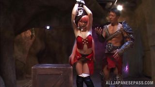 hot pirate gets tied up