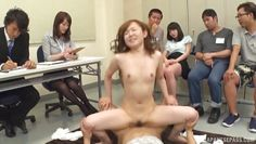 japanese milf fucked by colleague in office