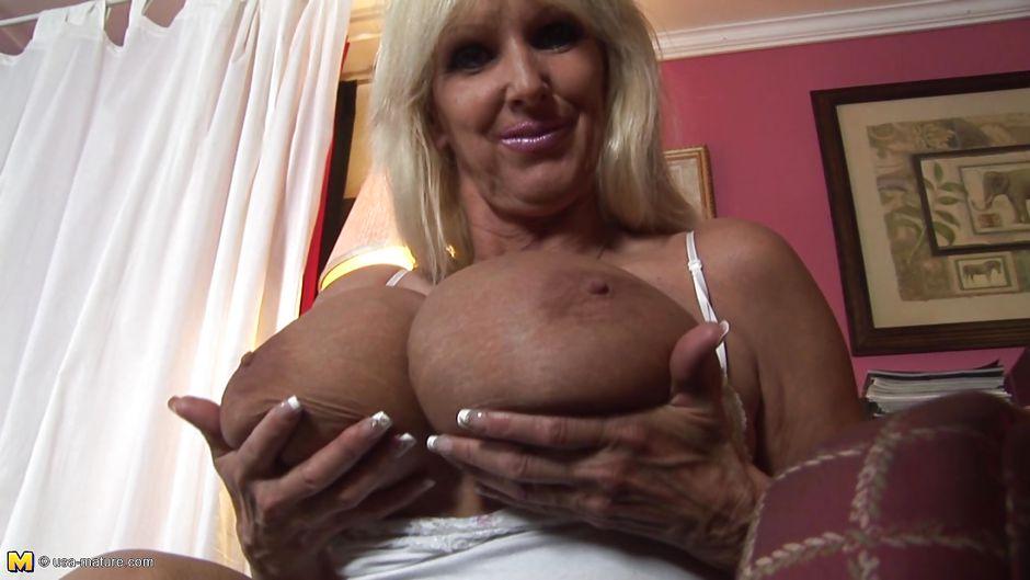 Big boob mature clips