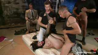 sex slave coral aorta gets punished by horny men