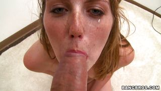 pretty blonde gets fucked deep