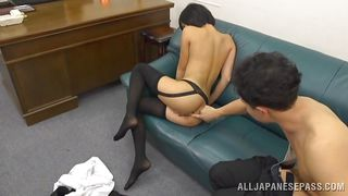 uta takes a big cock in her ass