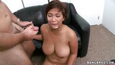 sexy asian reina gets fucked and facialed!