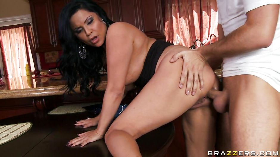 big brunette Brazzers and