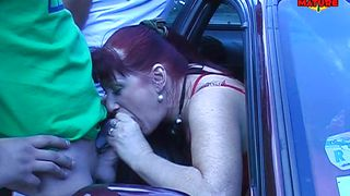 oriana suck cock of the first guy cock she meet