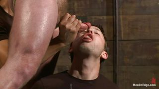 executor wants this tied gay's semen