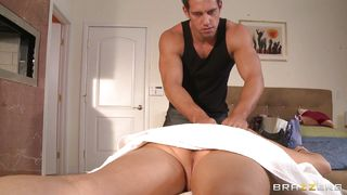 veronica avluv gets fucked at massage