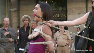 it's a public display of humiliation for bad slave samia