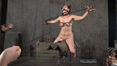 extreme nipple torture from mistress