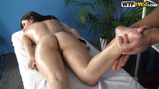 perfect butt chick massaged
