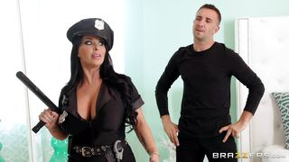 busty cop busts his cock
