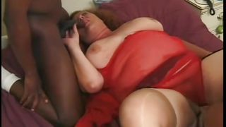 bbw laying in bed waiting for cock
