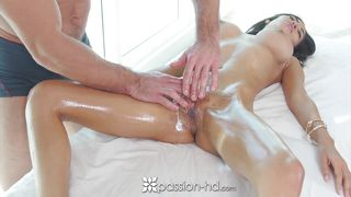 passion-hd - busty shay evans sucks and fucks hard cock during massage