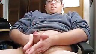 my boy rubs his dick