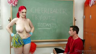 she can be a cheerleader @ big tit fantasies