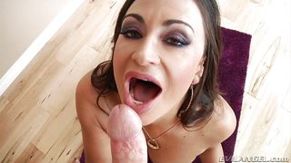 slutty claudia loves to suck cock @ milfs suck! #02
