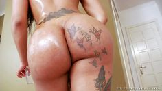 latina shemale has a firm grip on her cock