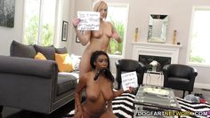 kate england and lisa tiffian in interracial lesbian action