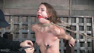 weightd-tied-on-boob-girl-masturbate