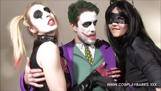 cosplay babes jokes banging harley quinn and catwoman sextape